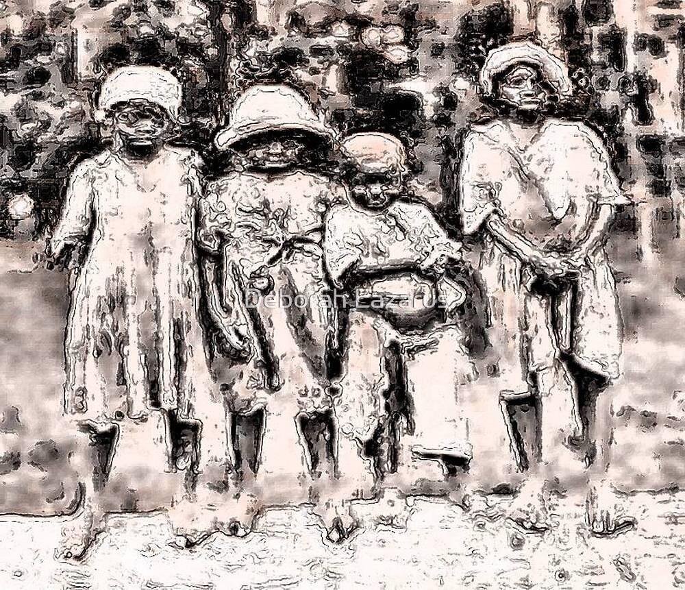 Civil War Slave Children by Deborah Lazarus