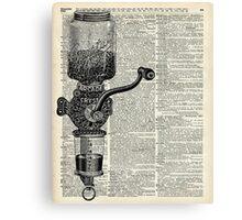 Vintage Coffee Grinder  Canvas Print
