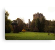 Blarney Castle in Autumn Canvas Print
