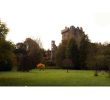 Blarney Castle in Autumn Photographic Print