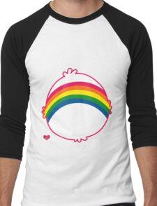 Rainbow CareBear Men's Baseball ¾ T-Shirt