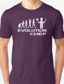 Evolution Of A Chef Cooking Funny Unisex T-Shirt
