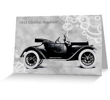 1913 Cadillac Roadster Greeting Card