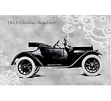1913 Cadillac Roadster Photographic Print