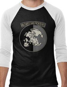 Militaires Sans Frontières Men's Baseball ¾ T-Shirt