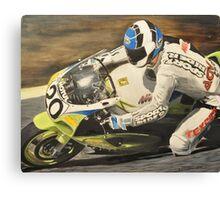 """ Sport Rider "" Canvas Print"