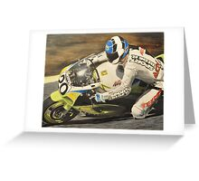 """ Sport Rider "" Greeting Card"