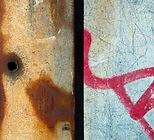 Graffiti and Rust  by Orla Cahill Photography