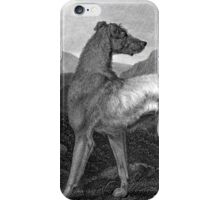 Irish Greyhound Dog iPhone Case/Skin