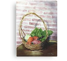 Home Grown Canvas Print