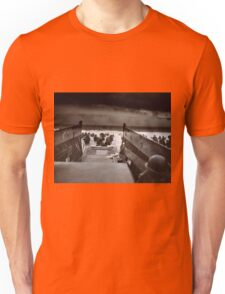 Taxis to Hell and Back World War II Normandy Beach June 6 1944 Unisex T-Shirt