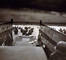 Taxis to Hell and Back World War II Normandy Beach June 6 1944 by allhistory