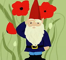 Garden of Remembrance Gnome by KMartinez