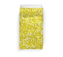 Cell Pattern Yellow Plates Duvet Cover
