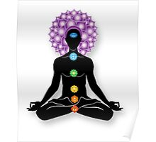 Meditation and Chakras Poster