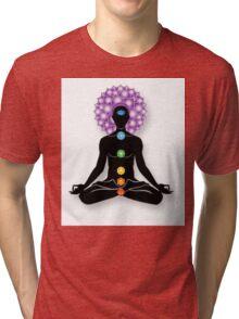 Meditation and Chakras Tri-blend T-Shirt