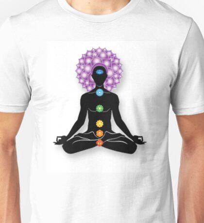 Meditation and Chakras Unisex T-Shirt