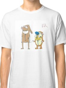 Finn and Jake Ren and Stimpy by WRTSTIK Classic T-Shirt