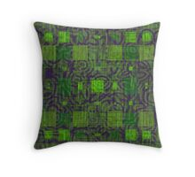 AztecoCamo 03 Throw Pillow