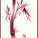 &quot;INSPIRE&quot; - Original ink brush pen bamboo drawing/painting by Rebecca Rees