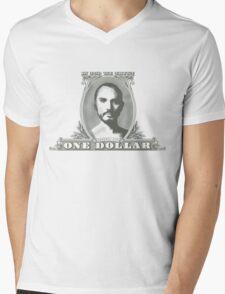 In Zod We Trust Mens V-Neck T-Shirt