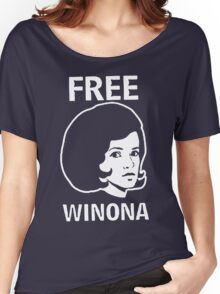 FREE WINONA Ryder DEPP Women's Relaxed Fit T-Shirt