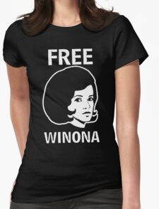 FREE WINONA Ryder DEPP Womens Fitted T-Shirt
