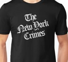 The New York Crimes Shirt Unisex T-Shirt