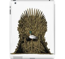A Game On Throne iPad Case/Skin