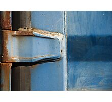 Rusty Hinge Photographic Print