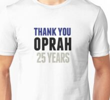 Oprah 25 Years Shirt Unisex T-Shirt