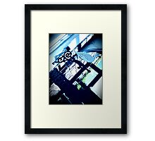 Welcome to my humble abode... Framed Print