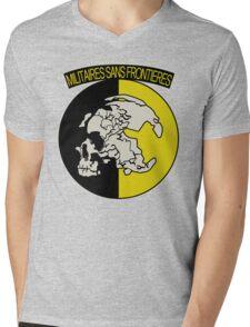 Militaires Sans Frontières Mens V-Neck T-Shirt