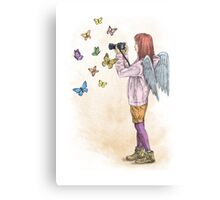 Photog Angel Canvas Print