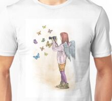 Photog Angel Unisex T-Shirt