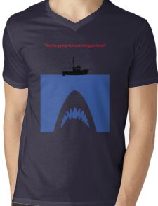 You're going to need a bigger boat Mens V-Neck T-Shirt