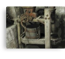 Antique Winemaking Press Hermann, MO Canvas Print