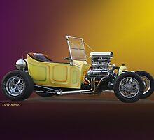 1927 Ford 'Bucket T' Roadster Pickup VS2 by DaveKoontz