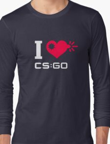 I <3 CSGO Long Sleeve T-Shirt