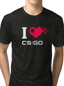 I <3 CSGO Tri-blend T-Shirt