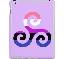 Genderfluid Pride Teen Wolf Triskelion iPad Case/Skin