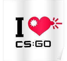 I <3 CSGO Poster