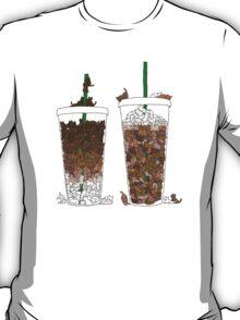 Starbucks Kittens! T-Shirt