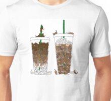 Starbucks Kittens! Unisex T-Shirt