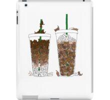 Starbucks Kittens! iPad Case/Skin
