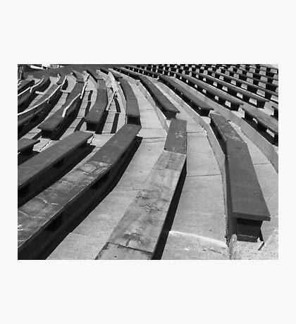 cheap seats Photographic Print