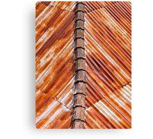 Rusty Roof.... Canvas Print