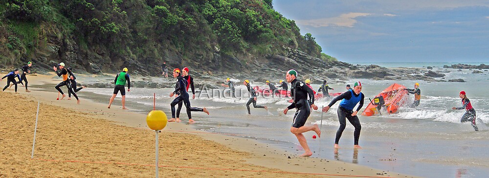 Changeover at Wye River by Andy Berry