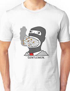 Gentlemen. Unisex T-Shirt