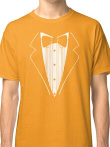 Hot Funny TUXEDO Wedding Groom Prom Bow Classic T-Shirt